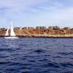 En barco por las islas Baleares